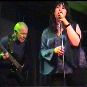 Anne-Lise and Paul Wheeler in Anne-Lise's short lived original band, Ayelle. 2004.