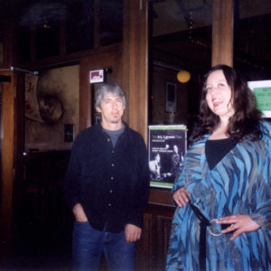 Andy Manessis and Anne-Lise Larsen at the Kellys On King residency