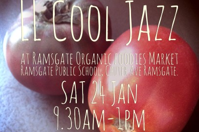 LL Cool Jazz @ Ramsgate Organic Foodies Market Sat 24 Jan 2015