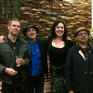 Machiniso after gig at The Townie, Newtown, 2013