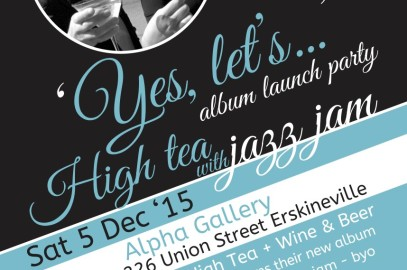 LL's Yes, let's… High Tea With Jazz Jam Album Launch Party